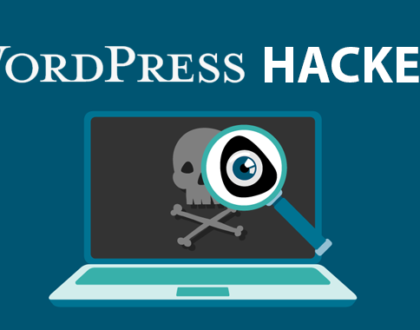 Gehackte WordPress website opschonen